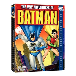 The New Adventures of Batman: The Complete Series (DVD)