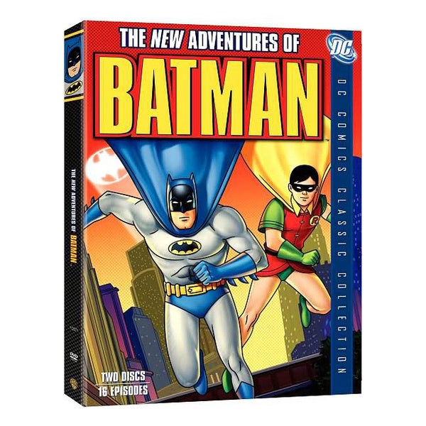 The New Adventures of Batman: The Complete Series (DVD) 2772332