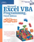 Microsoft Excel Vba Programming, for the Absolute Beginner (Paperback)