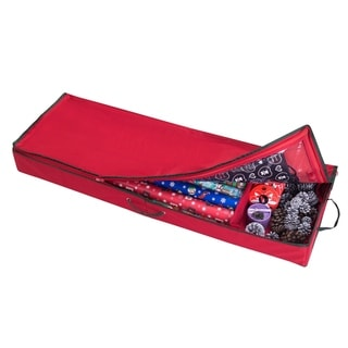"""Elf Stor Christmas Storage Organizer 30"""" Wrapping Paper, Ribbon and Bows"""