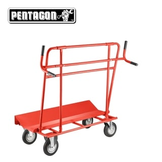 Pentagon Tools Professional Material Hauler Dolly with Handles