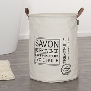 Sealskin Laundry Bag 16x20 Inch Savon De Provence Off-White Fabric