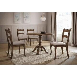 Best Master Furniture 5 Pcs Round Dinette Set