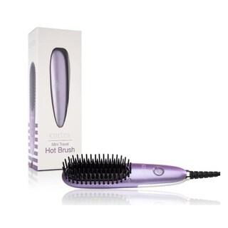 Cortex Mini Digital Hot Hair Brush with Ceramic Coating