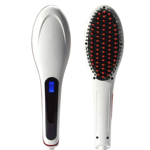 M.B.S Ceramic Flat Iron Hair Straightener Brush