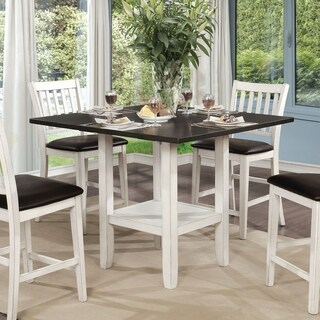 The Gray Barn Doolittle Counter Height Expandable Dining Table