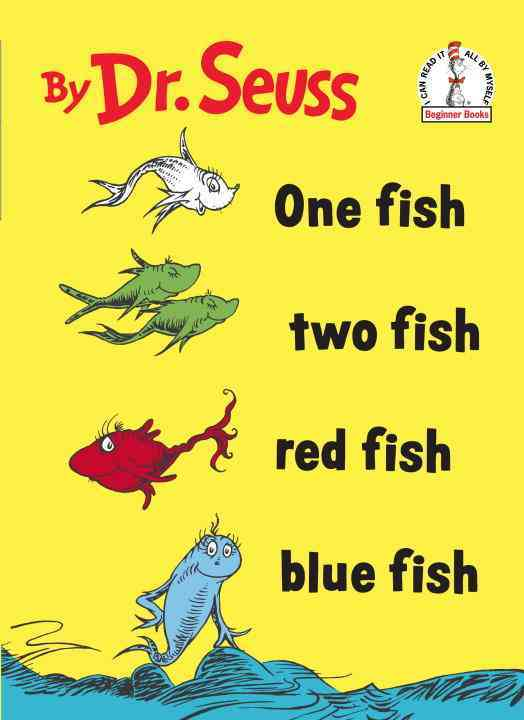 One Fish, Two Fish, Red Fish, Blue Fish (Hardcover)