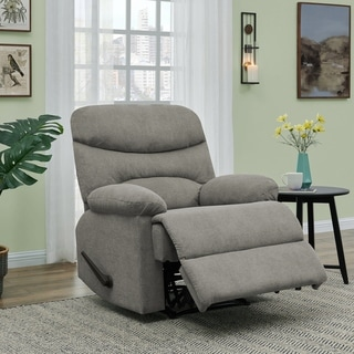 Copper Grove Herentals Grey Chenille Wall Hugger Recliner Chair