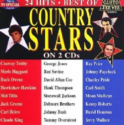 Various - Best of Country Stars on Lp 24 Hits