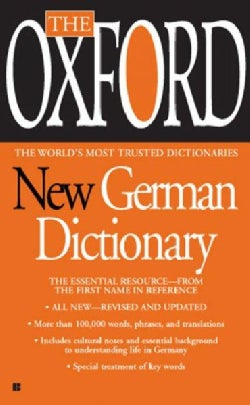 The Oxford New German Dictionary: German-English/ English-German - Deutsch-Englisch/Englisch-Deutsch (Paperback)