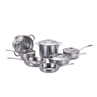 Momscook Pro Tri-Ply Clad 11-Piece Cookware Set