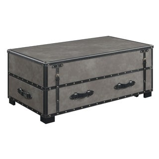 Picket House Furnishings Newport Lift-Top Coffee Table in Gray
