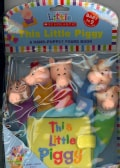 This Little Piggy: A Hand-puppet Board Book (Board book)