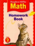 Houghton Mifflin Math Homework Book Grade 2 (Paperback)