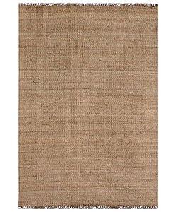 Hand-woven Natual Jute Rug (8' x 10'6)