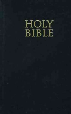 The Holy Bible: New King James Version, Black, Giant Print, Reference (Hardcover)