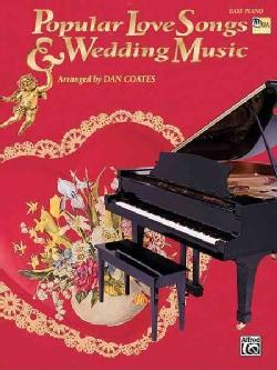 Popular Love Songs & Wedding Music: Easy Piano (Paperback)
