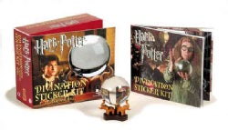 Harry Potter Divination Sticker Kit: With Crystal Ball (Paperback)