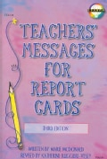 Teachers' Messages for Report Cards (Paperback)