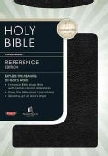Holy Bible New King James Version Reference: Black Bonded Leather (Paperback)