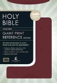 The Holy Bible Containing the Old and New Testaments/King James Version/Giant Print Center-Column Reference Editi... (Hardcover)