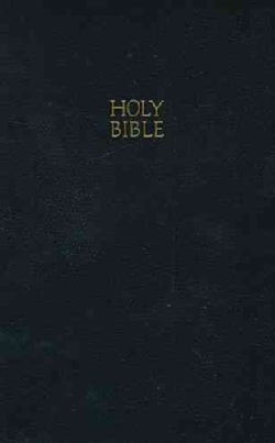 The Holy Bible: King James Version, Black, Leatherflex, Gift & Award Edition (Paperback)