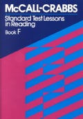 McCall Crabbs Standard Test: Lessons in Reading Book F (Paperback)