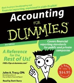 Accounting for Dummies (CD-Audio)