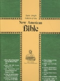 The New American Bible: St Joseph Personal Size Edition, Burgundy Leather, Gold Edges (Paperback)