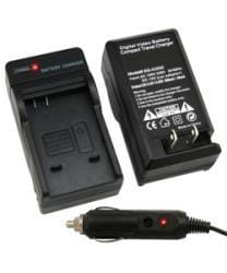 Eforcity Compact Battery Charger Set for Panasonic CGA-S005E