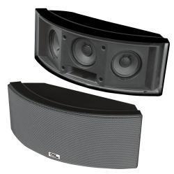 Pyle 500W 3-way Indoor/ Outdoor 'Black' Center Channel Speaker
