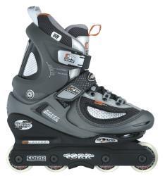Corr ATS Gray/Silver/Black Plastic/Polyester Aggressive Inline Skates