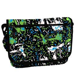 J World 'Thomas' Tiger Green Laptop Messenger Bag