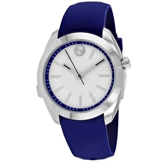 Movado Women's 3660011 'Bold Motion' Blue Silicone Watch