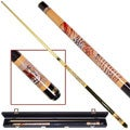 Siberian Tiger Billiard Pool Cue with Case