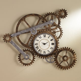 Clock and Gears Wall Art