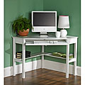 White Birch Corner Desk