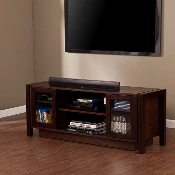 Burnell Espresso TV Media Stand