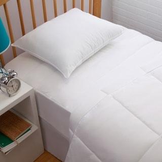 Cozy Classics Allergen Barrier Premium Dorm Kit - White