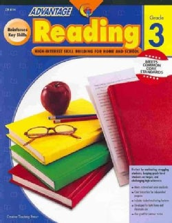 Advantage Reading, Grade 3: High-Interest Skill Building for Home and School (Paperback)