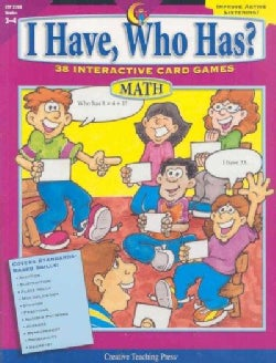 I Have, Who Has? Math 3-4: 38 Interactive Card Games (Paperback)