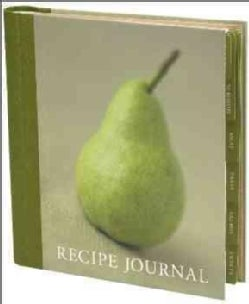Recipe Journal - Pear (Notebook / blank book)