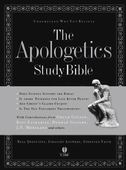 The Apologetics Study Bible: Holman Christian Standard Bible (Hardcover)