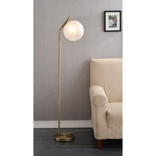 Carson Carrington Elduvik Antique Brass 60-inch Floor Lamp