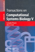 Transactions on Computational Systems Biology V (Paperback)