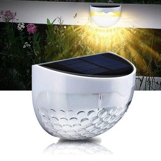 1 Pack IP65 Solar Powered Wireless Light Weatherproof Lamp for Outdoor,Garden, Pathway
