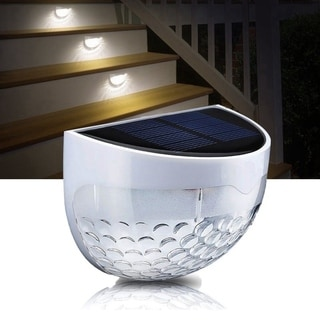 Solar LED Outdoor Lighting Waterproof Garden Light Sensor Light with Auto on at Dusk/ Off at Dawn(1 pack )