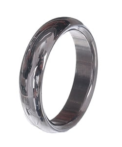 Men's Tungsten Carbide Dome Wedding Band (5.5 mm)
