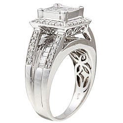 14k Gold 1ct TDW Princess Diamond Ring (H-I, I2)