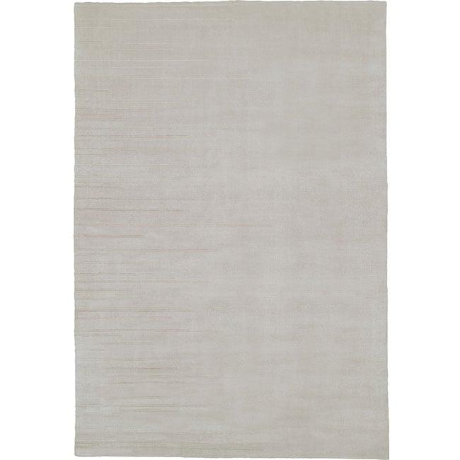 Nourison Grey Wool/Silk Rug (5'6 x 8')